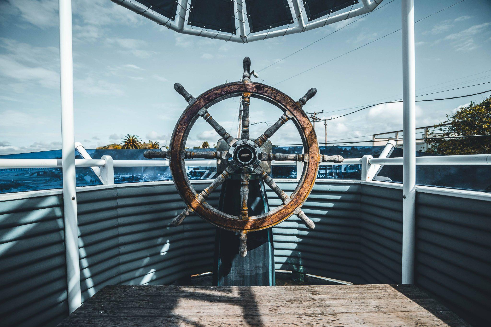 laivo vairas