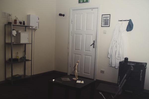 laboratorijos pabėgimo kambario foto