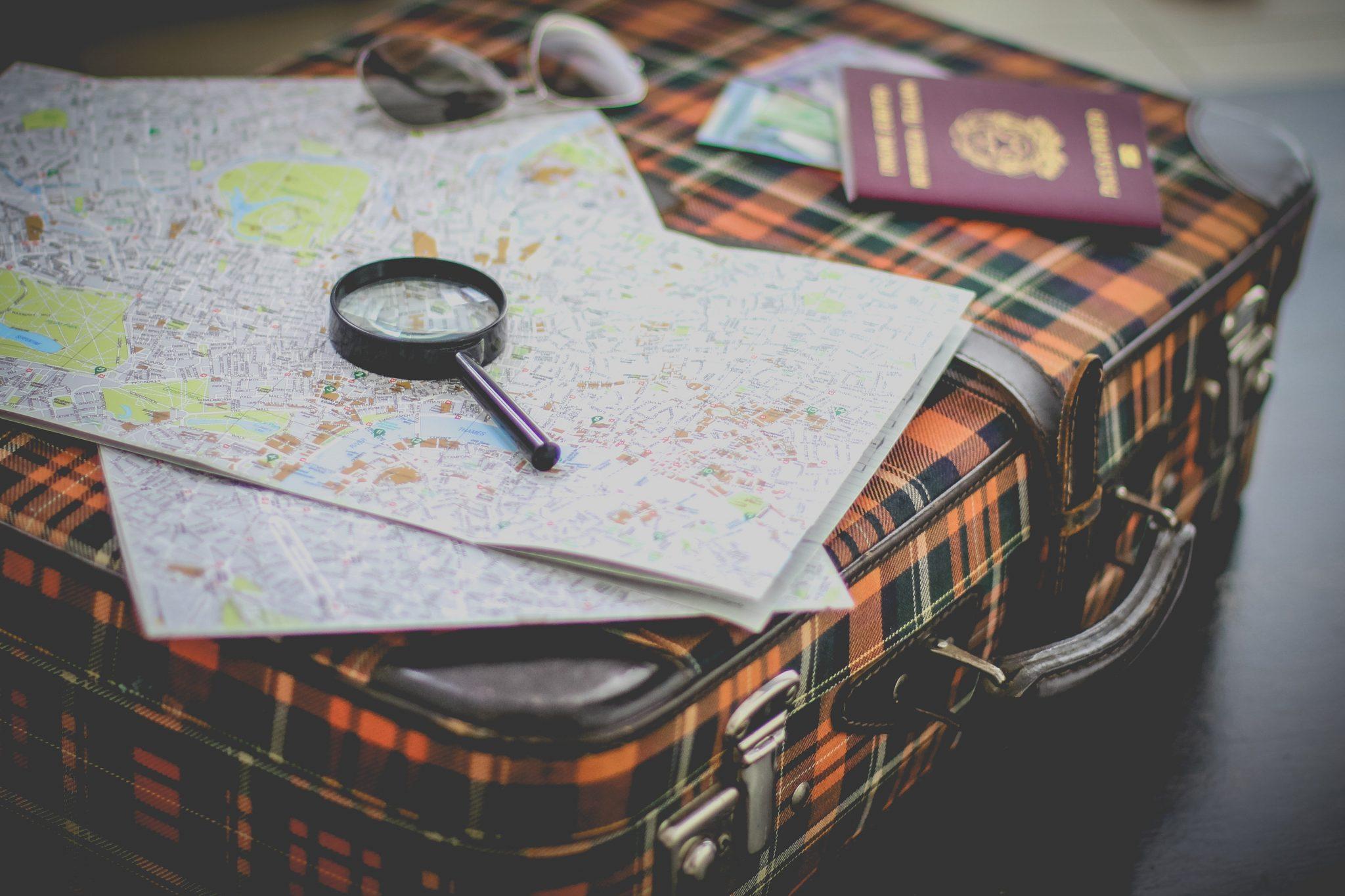 kelionės lagaminas